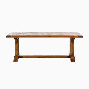 Oak Dining Table, 1930s