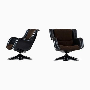 Easy Chairs by Yrjö Kukkapuro for Haimi, 1960s, Set of 2
