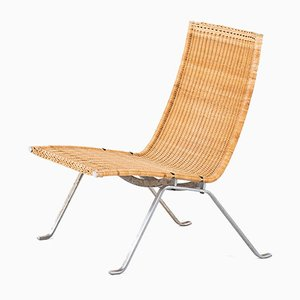 PK-22 Easy Chair by Poul Kjærholm for E. Kold Christensen, 1950s