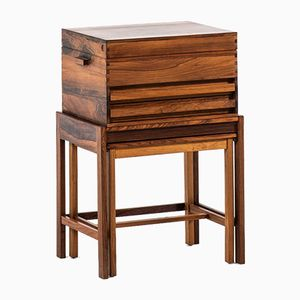 Side Table by Gunnar Myrstrand for Källemo, 1960s