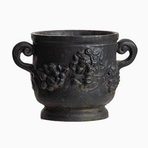 Cast Iron Urn, 1950s