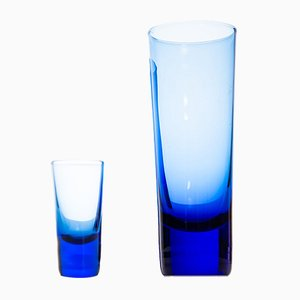 Set di bicchieri di Reijmyre Glasbruk, anni '60
