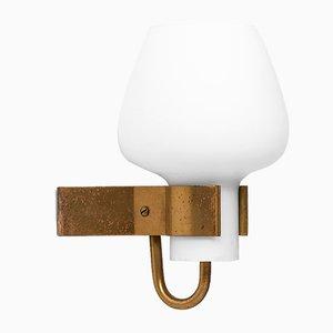 Lámpara de pared de Hans Bergström para Ateljé Lyktan, años 50