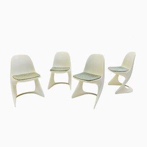 Vintage Casala Stühle aus Kunststoff von Alexander Begge, 4er Set