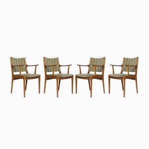Chaises de Salle à Manger Modèle UM85 en Teck par Johannes Andersen pour Uldum Mobelfabrik, 1960s, Set de 4