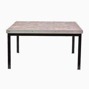 Table Basse en Céramique par Alfred Hendrickx pour Belform, 1960s