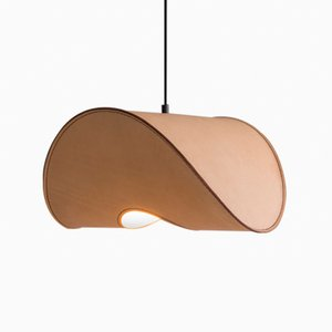 Large Nude Zero One Pendant Lamp by Jacob de Baan for Uniqka