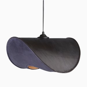 Small Black Zero One Pendant Lamp by Jacob de Baan for Uniqka