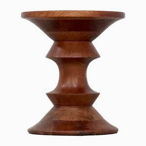 Walnut Model C Time Life Stool by Ray Eames for Herman Miller, 1960s