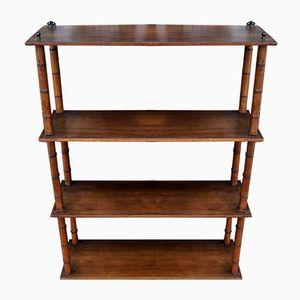 Vintage Faux Bamboo Shelves