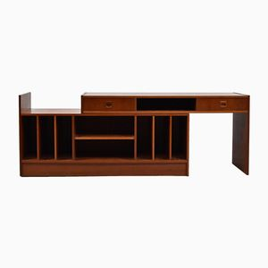 Norwegian Console Table with Removable Sliding Top by Torbjørn Afdal, 1960s
