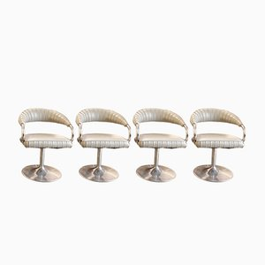Hairdressing Chairs, 1970s, Set of 4