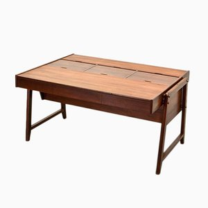 Mid-Century Teak Desk by Clausen and Maerus for Eden, 1960s