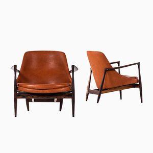 Vintage Elizabeth Easy Chairs by Ib Kofod-Larsen for Christensen & Larsen, Set of 2