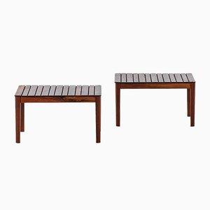 Tavolini di Alberts Tibro, anni '60, set di 2