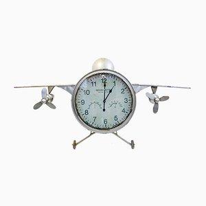 Horloge d'Avion Modèle F-30 Vintage en Métal