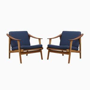 Moderne dänische Sessel, 1960er, 2er Set