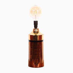Mid-Century Tischlampe aus glasierter Keramik von Bitossifor Bergboms