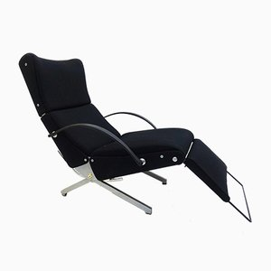 Vintage Lounge Chair P40 by Osvaldo Borsani for Tecno