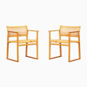 Armchairs by Børge Mogensen for Fredericia, 1960s, Set of 2