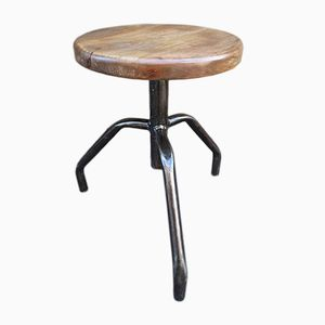Mid-Century Polish Machinist Stool