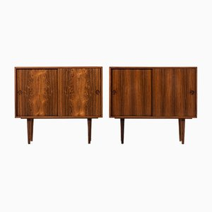 Vintage Sideboards by Kai Kristiansen for Feldballes Møbelfabrik, Set of 2