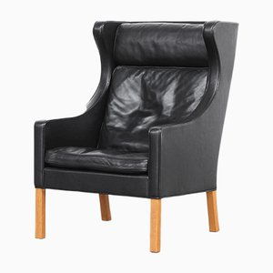 2204 Wingback Chair by Børge Mogensen for Fredericia Stolefabrik, 1970s