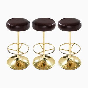 Classic Bar Stools by Börge Johansson for Johansson Design, 1960s, Set of 3