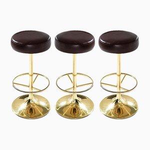 Sgabelli da bar classici di Börge Johansson per Johansson Design, anni '60, set di 3