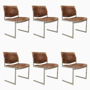Chaises Vintage par Jørgen Kastholm pour Kill International, Set de 3