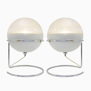 Model Focus Table Lamps by Fabio Lenci for Guzzini, 1968
