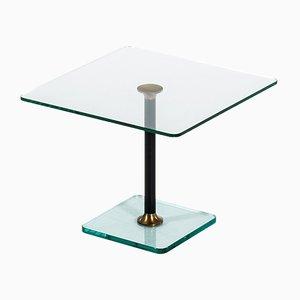 Mesa de centro de vidrio, años 60