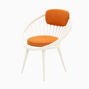 Scandinavian Circle Chair by Yngve Ekström for Swedese, 1960s