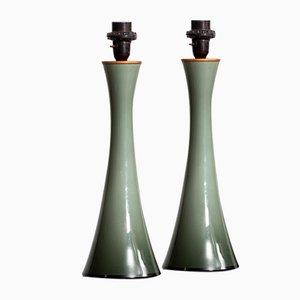 Lámparas de mesa de Berndt Nordstedt para Bergboms. Juego de 2