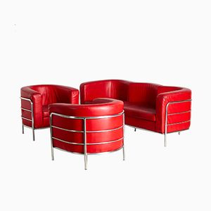 Onda Living Room Set by De Pas, D'Urbino & Lomazzi for Zanotta, 1980s