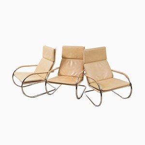 D35 Krag Armchair by Anton Lorenz for Tecta, 1970s