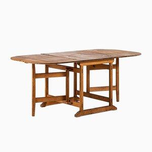 Schwedischer Gateleg Tisch, 1960er