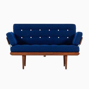 Sofá o sofá cama modelo Minerva de Peter Hvidt & Orla Mølgaard-Nielsen para France & Søn, años 50