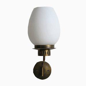 Lámparas de pared italianas de Stilnovo, años 50. Juego de 2