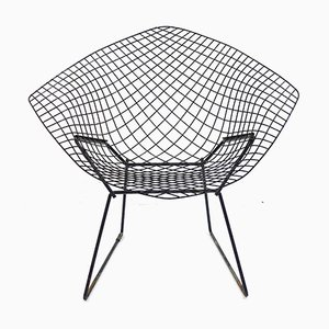 Modell 421 Diamond Stuhl von Harry Bertoia für Knoll International, 1980er