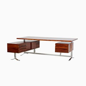 Rosewood Executive Desk by Gianni Moscatelli for Formanova, 1960s