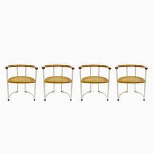 Vintage Chairs by Tito Agnoli, Set of 4