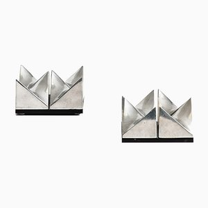 Esculturas Girocube de Holger Bäckström & Bo Ljungberg, 1977. Juego de 2