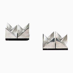 Girocube Sculptures by Holger Bäckström & Bo Ljungberg, 1970s, Set of 2