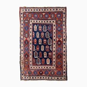 Antique Handmade Caucasian Kazak Rug, 1870s
