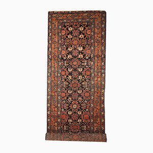Tapis de Couloir Artisanal Antique, 1900s