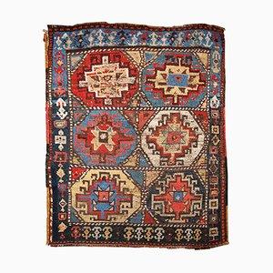 Antique Handmade Kurdish Rug, 1870s