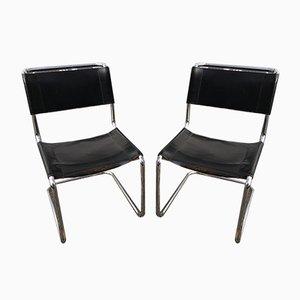 Vintage Modell S33 Stühle von Mart Stam für Thonet, 2er Set