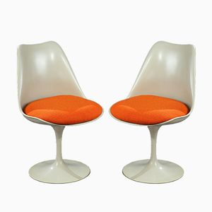 Tulip Chairs von Eero Saarinen, 1950er, 2er Set