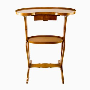Tavolino da cucito a forma di fagiolo, anni '30